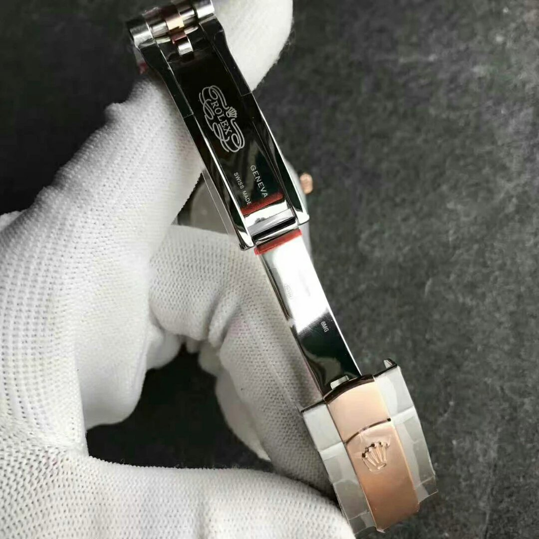 N Factory Wrapped Rose Gold 41mm Datejust Replica Rolex Watch 126331