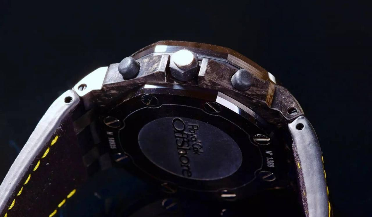 AP Chrono Buttons and Crown