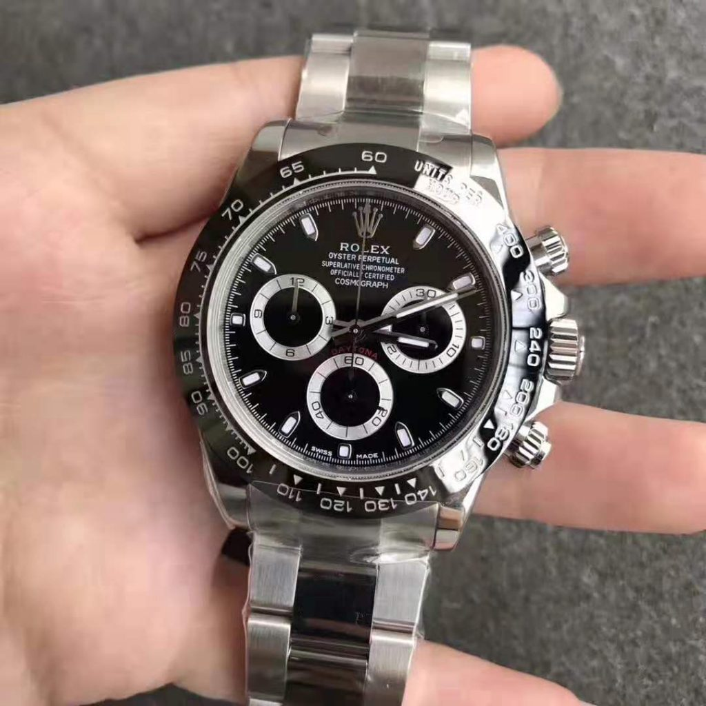 ARF Replica Rolex Daytona Black Ceramic