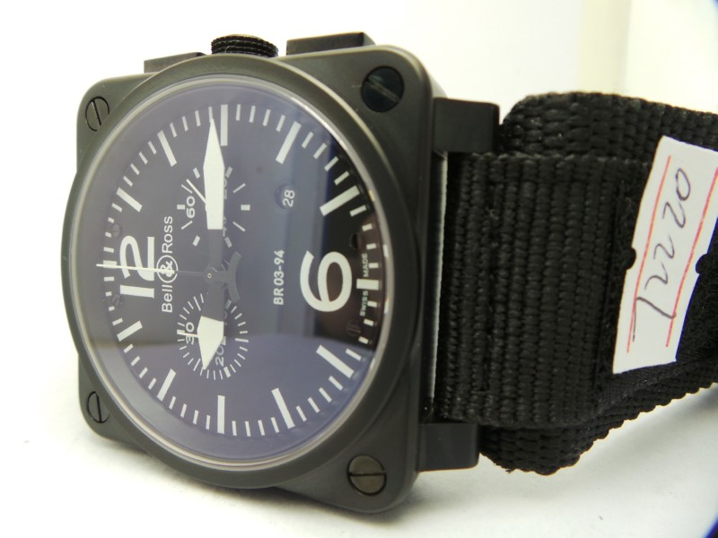 Bell Ross PVD Black Case