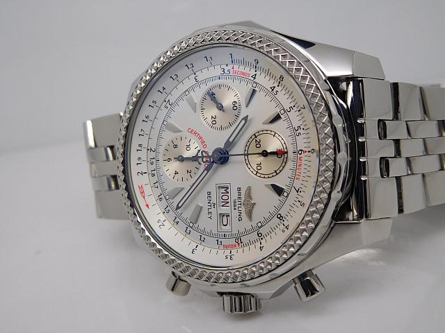 Breitling Bentley GT White Dial
