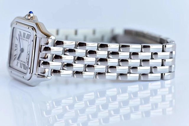 Cartier Panthere Steel Bracelet