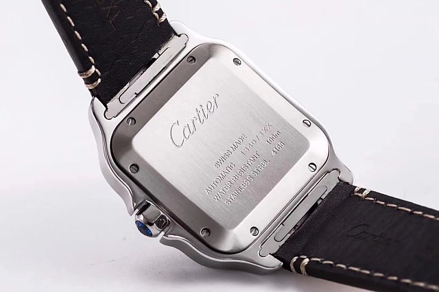 Cartier Santos 100 WSSA0009 Case Back