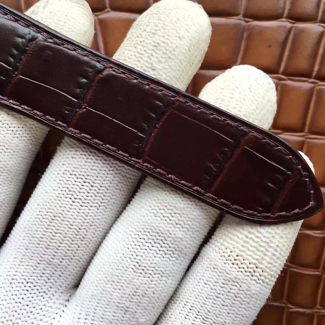 Cartier Tank Brown Leather Strap