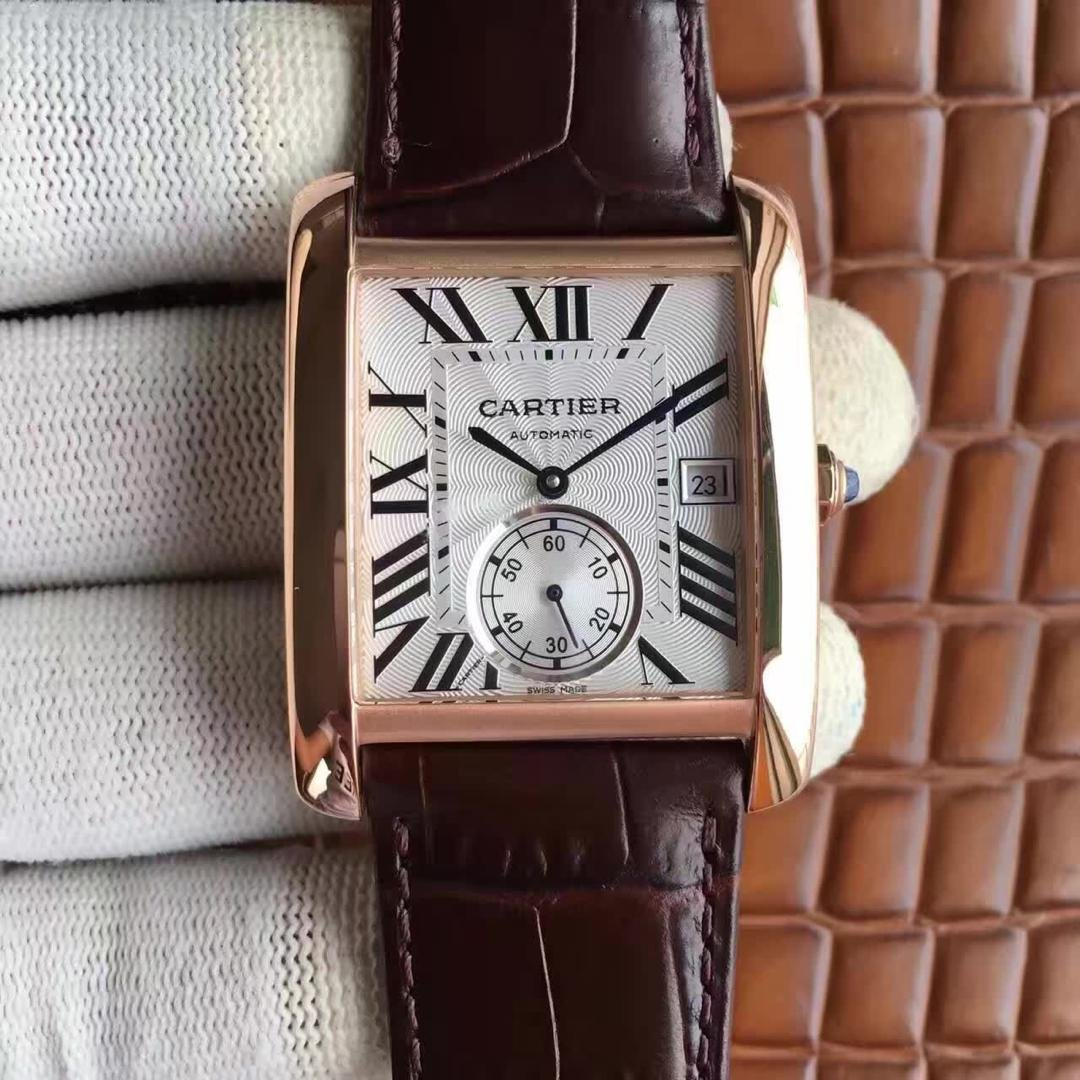 Cartier Tank Rose Gold Replica