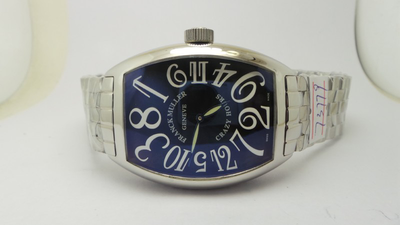 Franck Muller Curvex Jumbo Crazy Hours Watch Dial