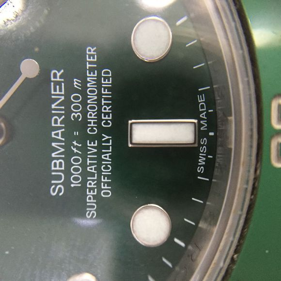 Genuine Submariner Dial