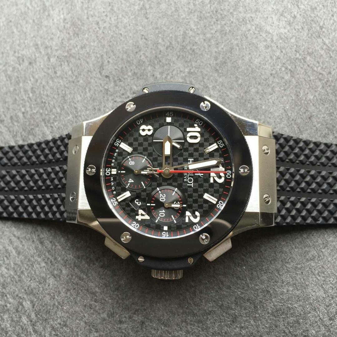Hublot Central Red Second Hand