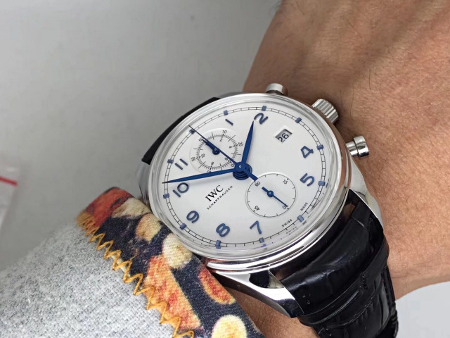 An Innovative Artwork from ZF Factory – Replica IWC Portuguese Chronograph IW390404 with Cal.89361