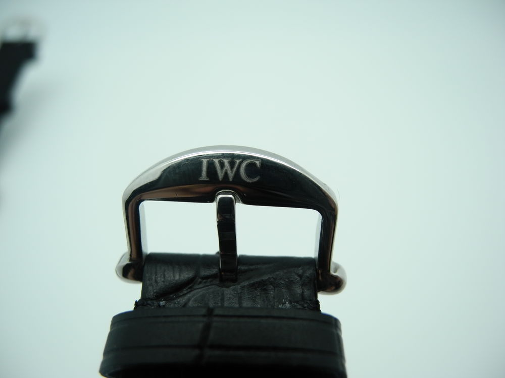 IWC Clasp Engraving on X Factory