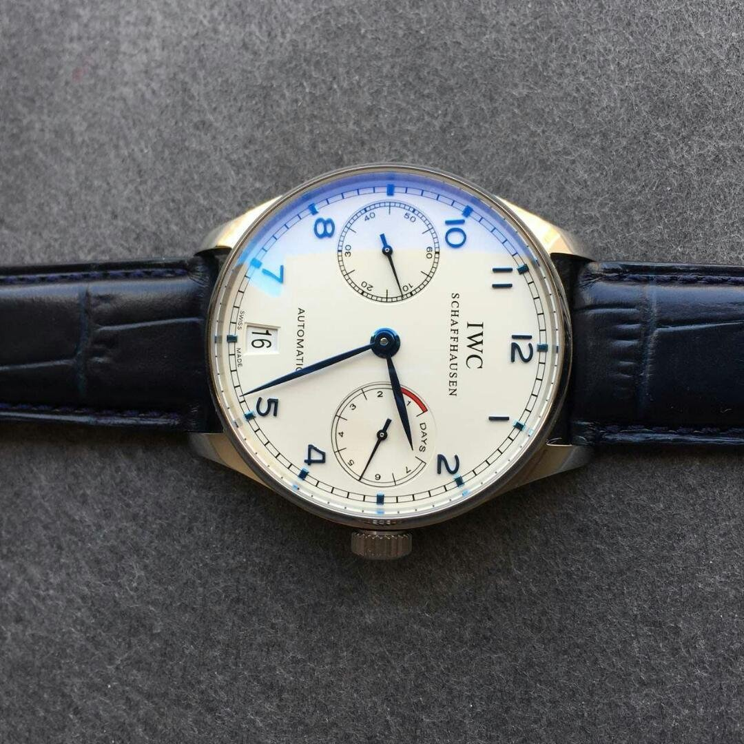 IWC IW500705 Blue Hands