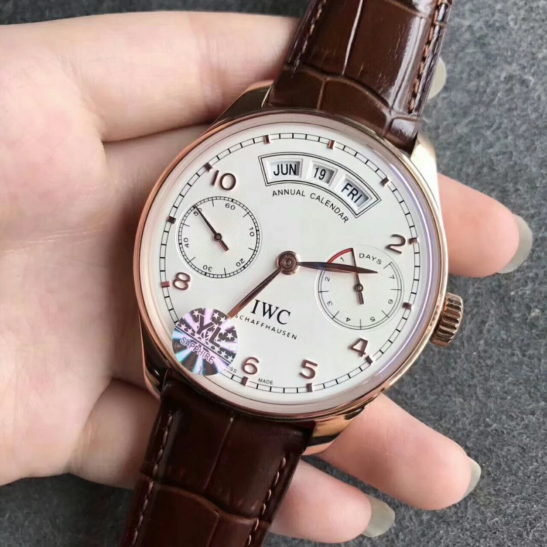 IWC Portuguese Rose Gold Replica
