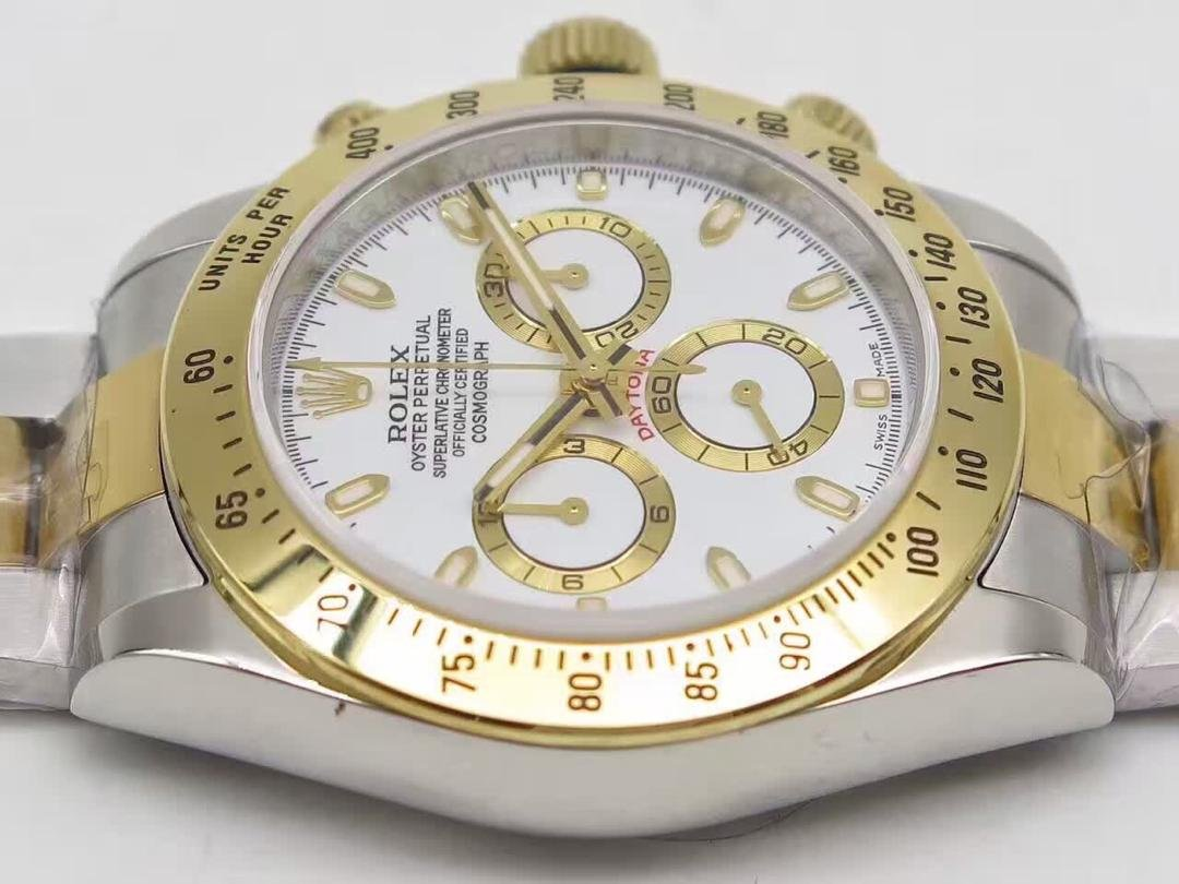 J12 Replica Rolex Daytona Stainless Steel Case