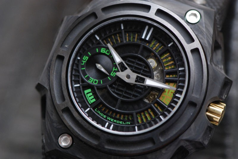 Linde Werdelin Spidolite Tech Green Dial