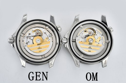 OM Factory Replica Omega Seamaster 007 Commander Watch with Clone 2507 Movement Stainless Steel Bracelet