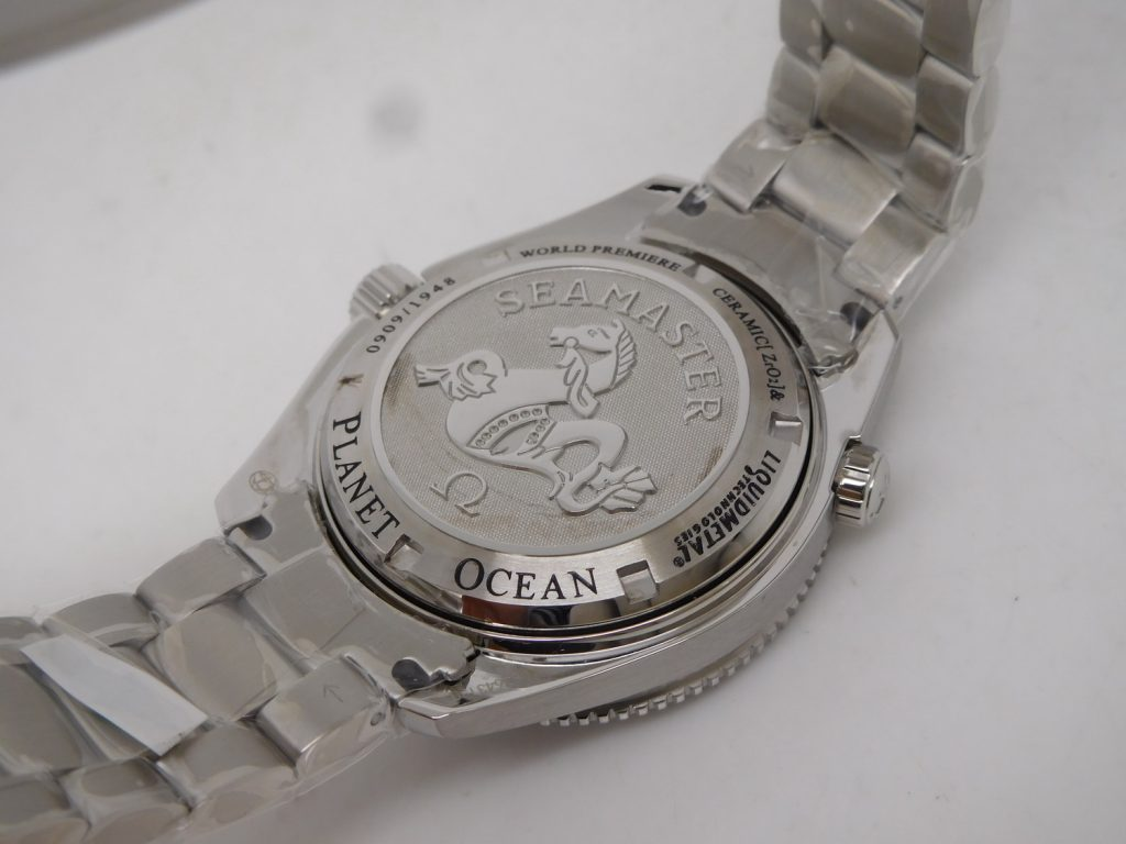 Noob Planet Ocean Liquidmetal Case Back