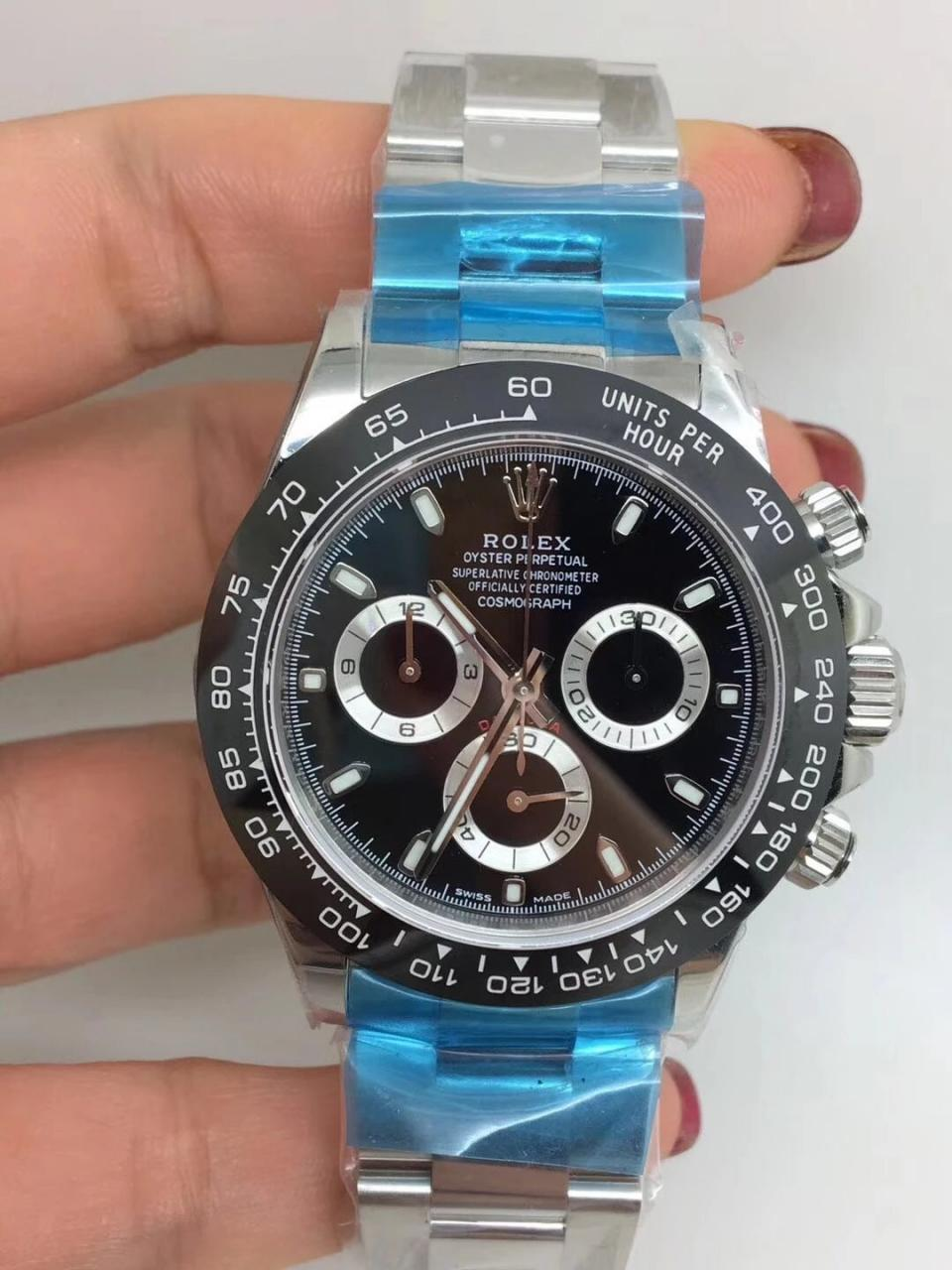 Noob Replica Rolex Daytona 116500 Ceramic Black