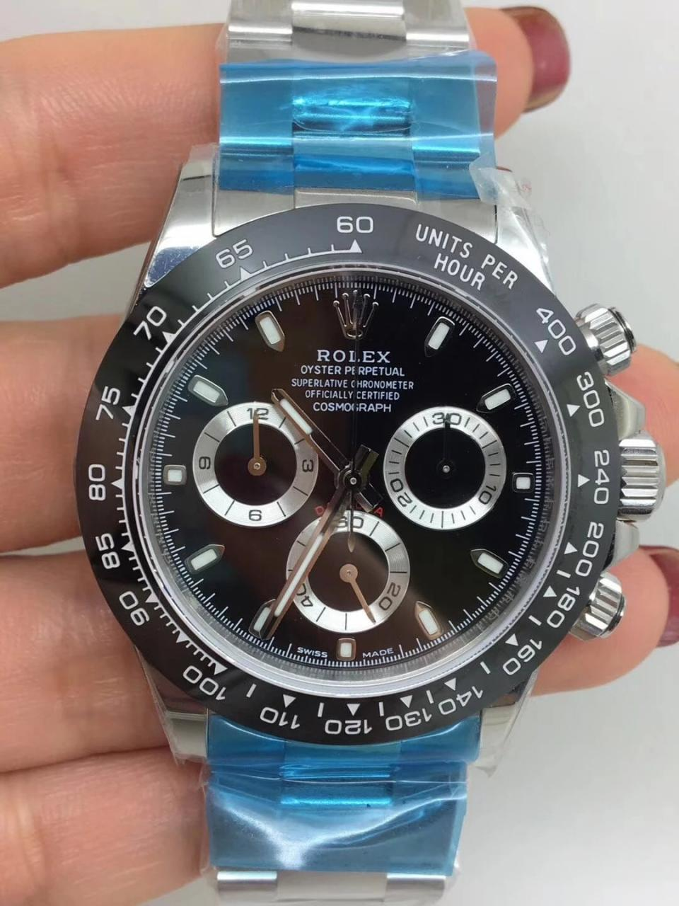 Noob Replica Rolex Daytona 116500 Ceramic Black_1