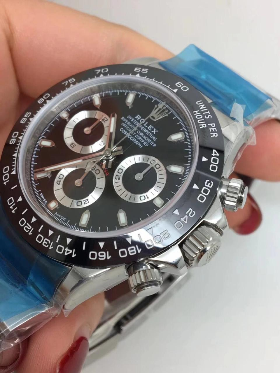 Noob Replica Rolex Daytona 116500 Ceramic Black_3
