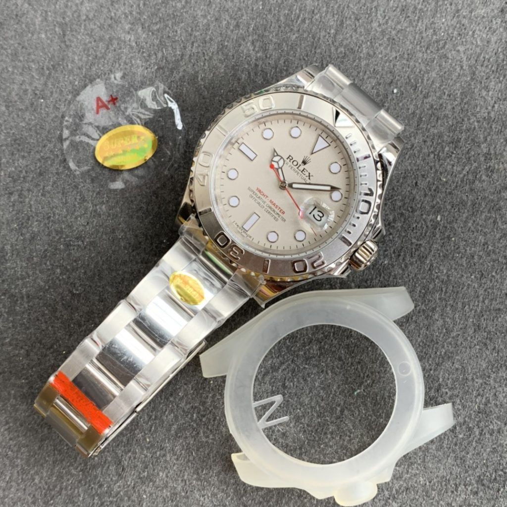Noob New Arrival Replica Rolex YachtMaster 116622 Made with 904L Stainless Steel