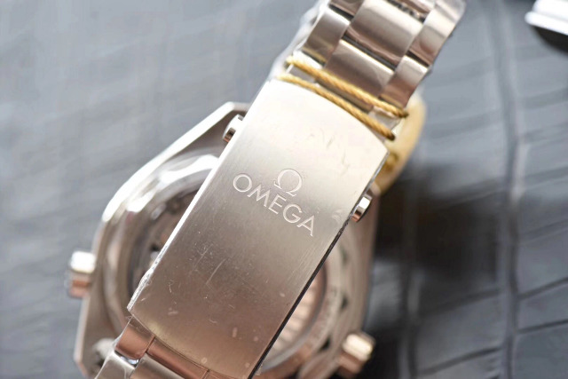 Omega Engraving on Buckle