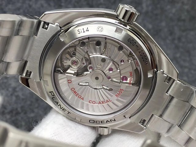 Omega GMT Sapphire Crystal Back