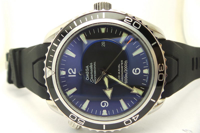 Omega Planet Ocean Watch Dial
