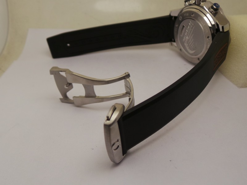 Omega Rubber Strap and Buckle