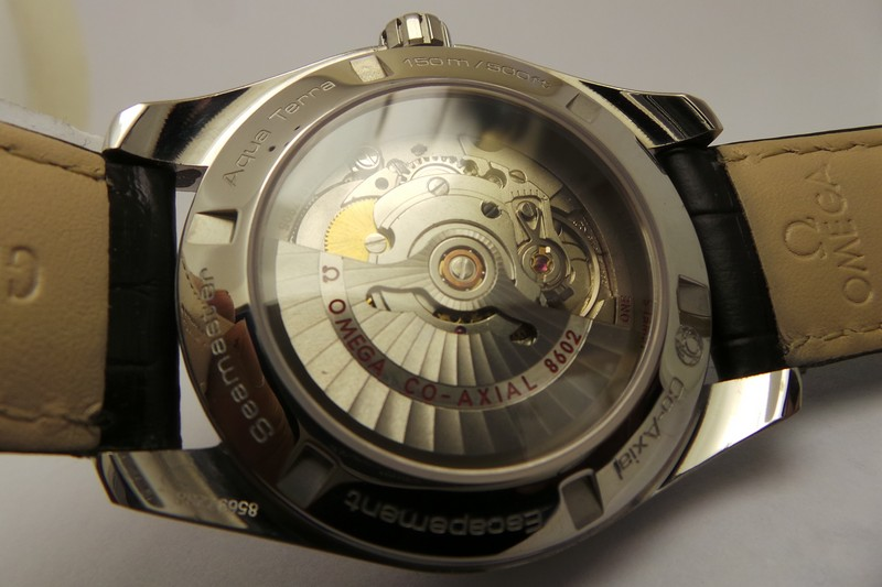 Omega See-through Caseback