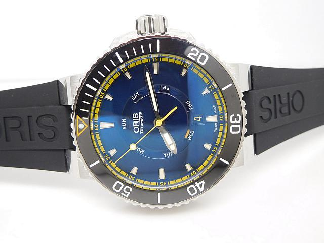 Oris Aquis Great Barrier Reef Diver Bezel