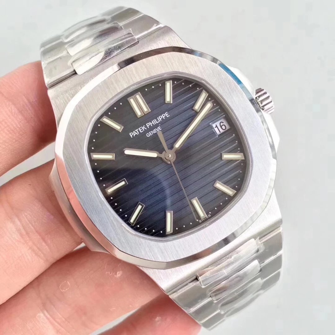 P Factory Replica Patek Philippe Nautilus Blue