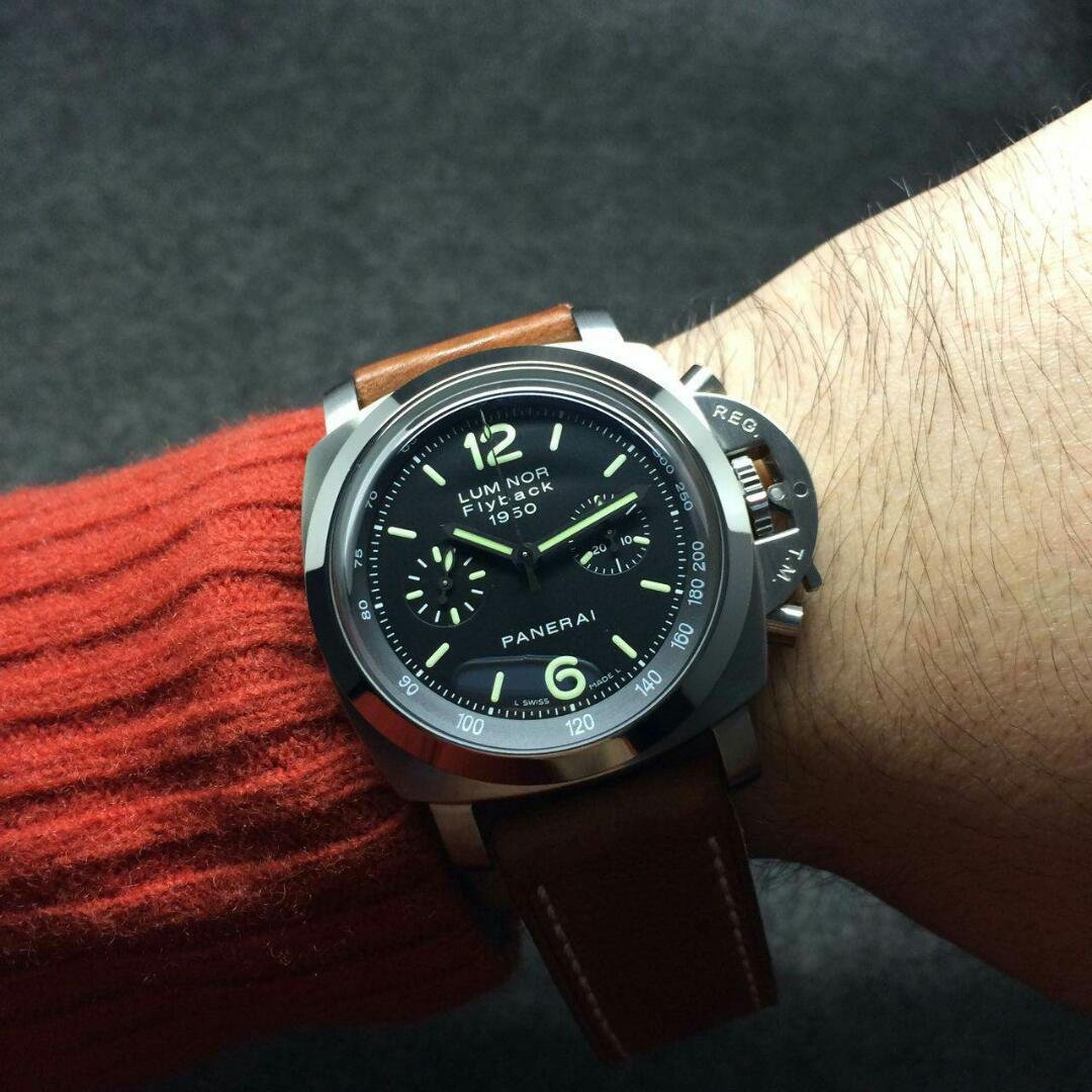 Noob Factory New Panerai Luminor Flyback 1950 PAM 212 Replica Watch Review
