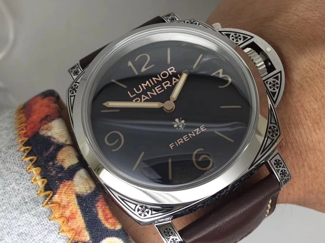 V9 Factory Replica Panerai Luminor 1950 Firenze PAM 972 with Super Clone P.3000 Movement