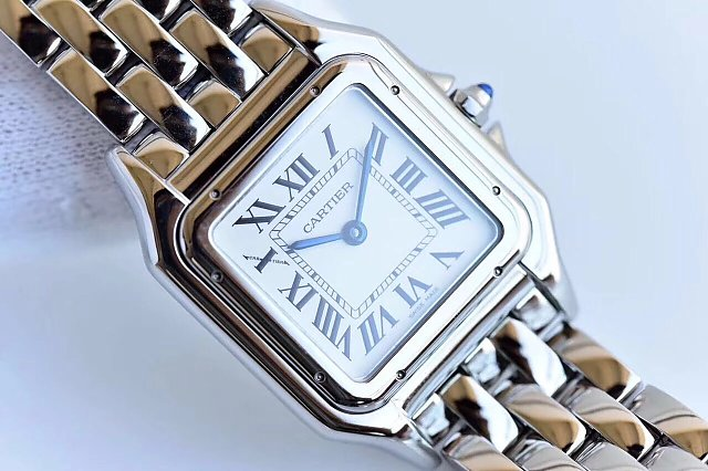 Panthere de Cartier White Dial