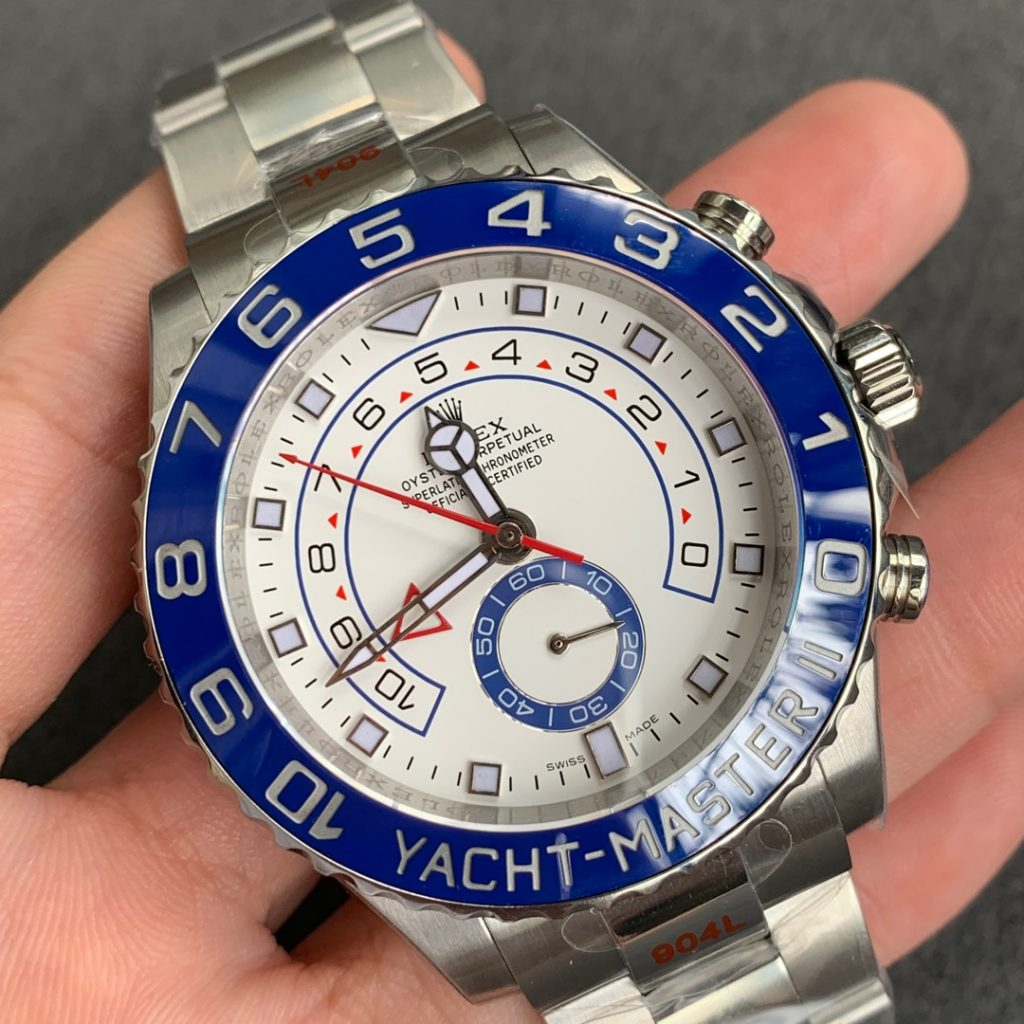 Relica Rolex YachtMaster II 904L Stainless Steel