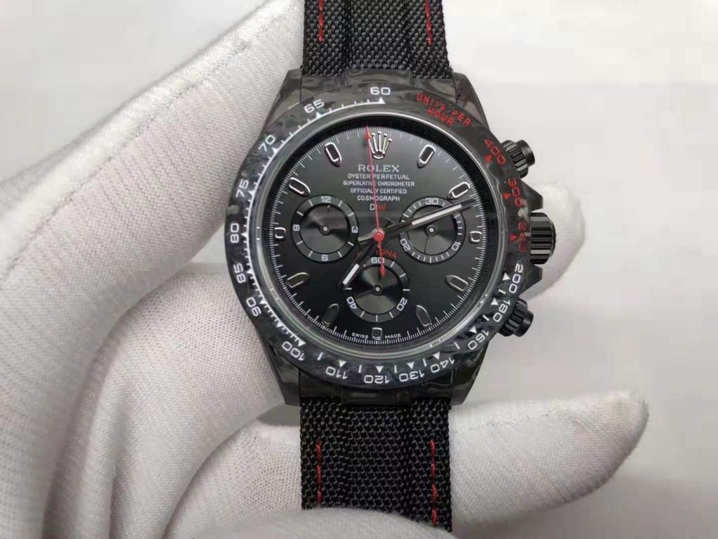 Replica Rolex Daytona Forged Carbon