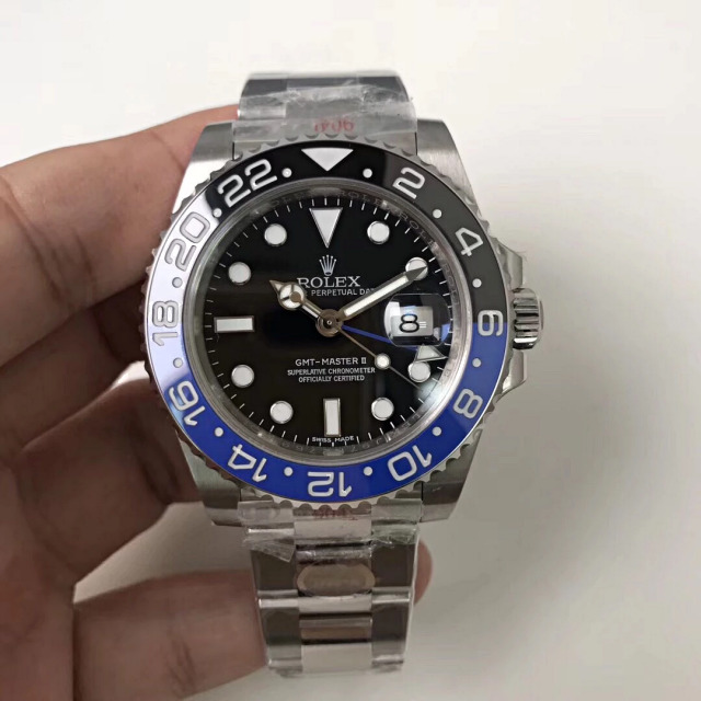 Replica Rolex GMT-Master II 116710BLNR Black Blue