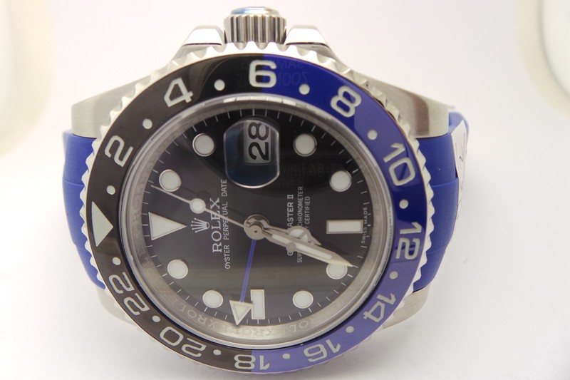 Replica Rolex GMT-Master II Blue Black Bezel