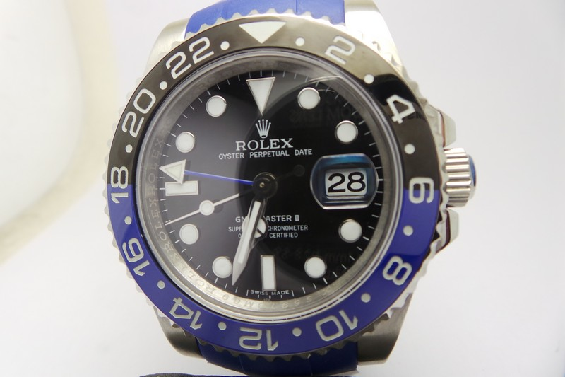 Replica Rolex GMT-Master II Blue Black Watch