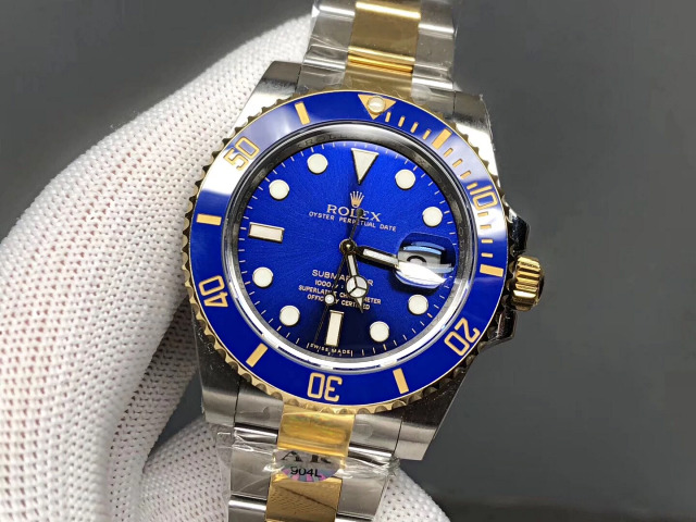 Replica Rolex Submariner Two Tone Blue
