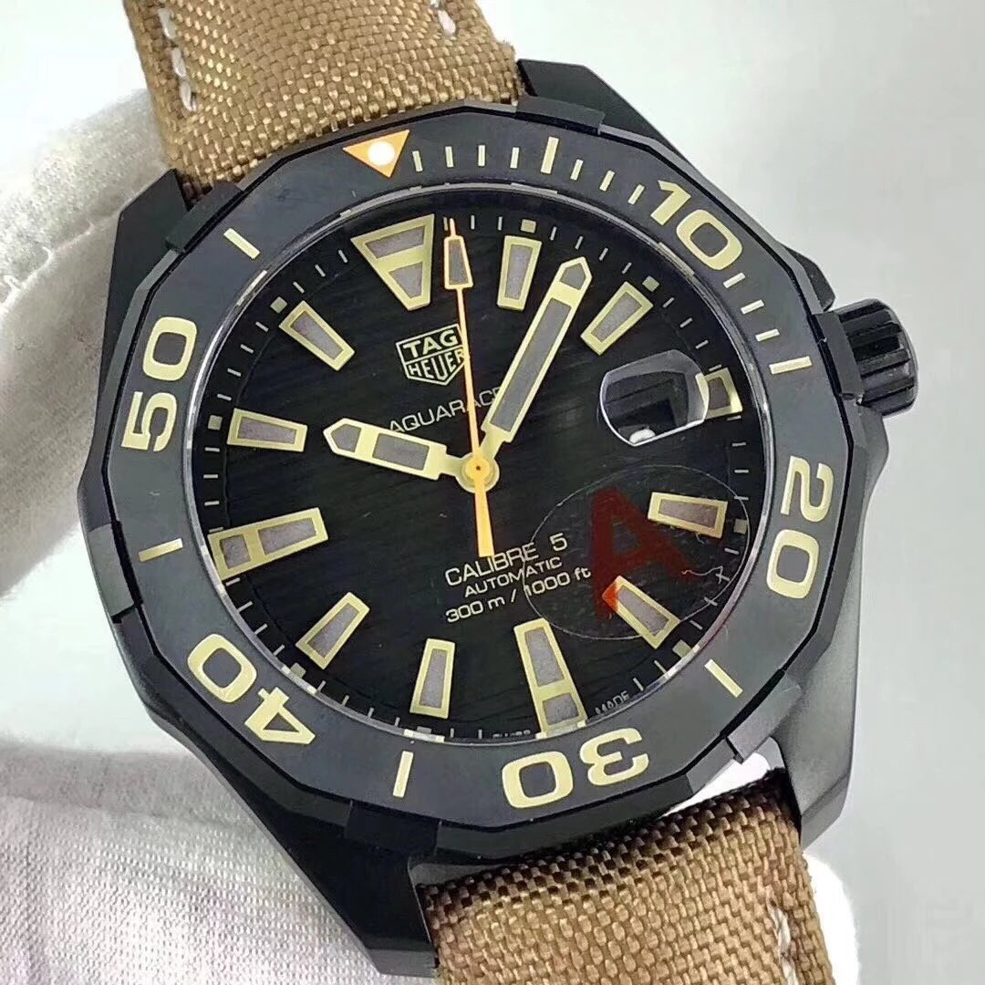Replica Tag Heuer Aquaracer DLC Black