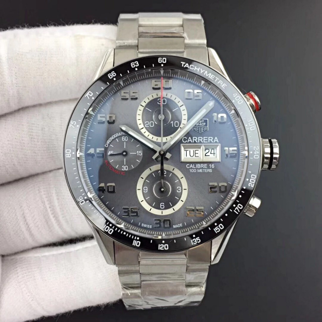 Replica Tag Heuer Carrera Calibre 1887 Grey