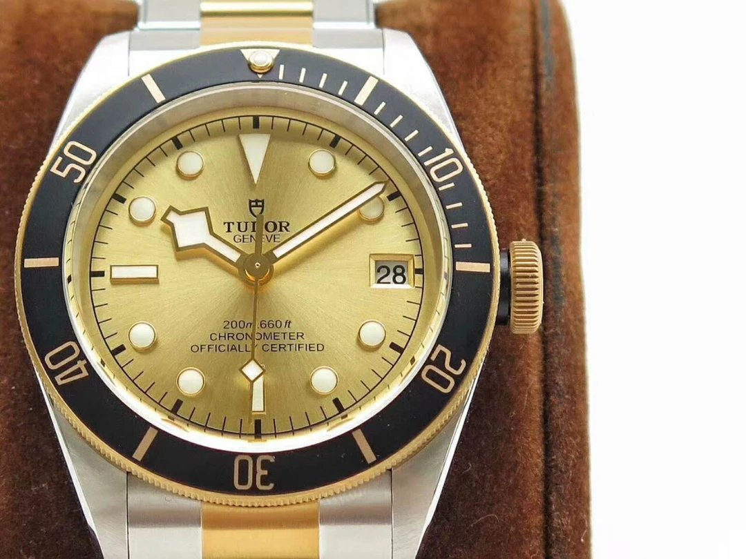 Replica Tudor Yellow Gold Dial