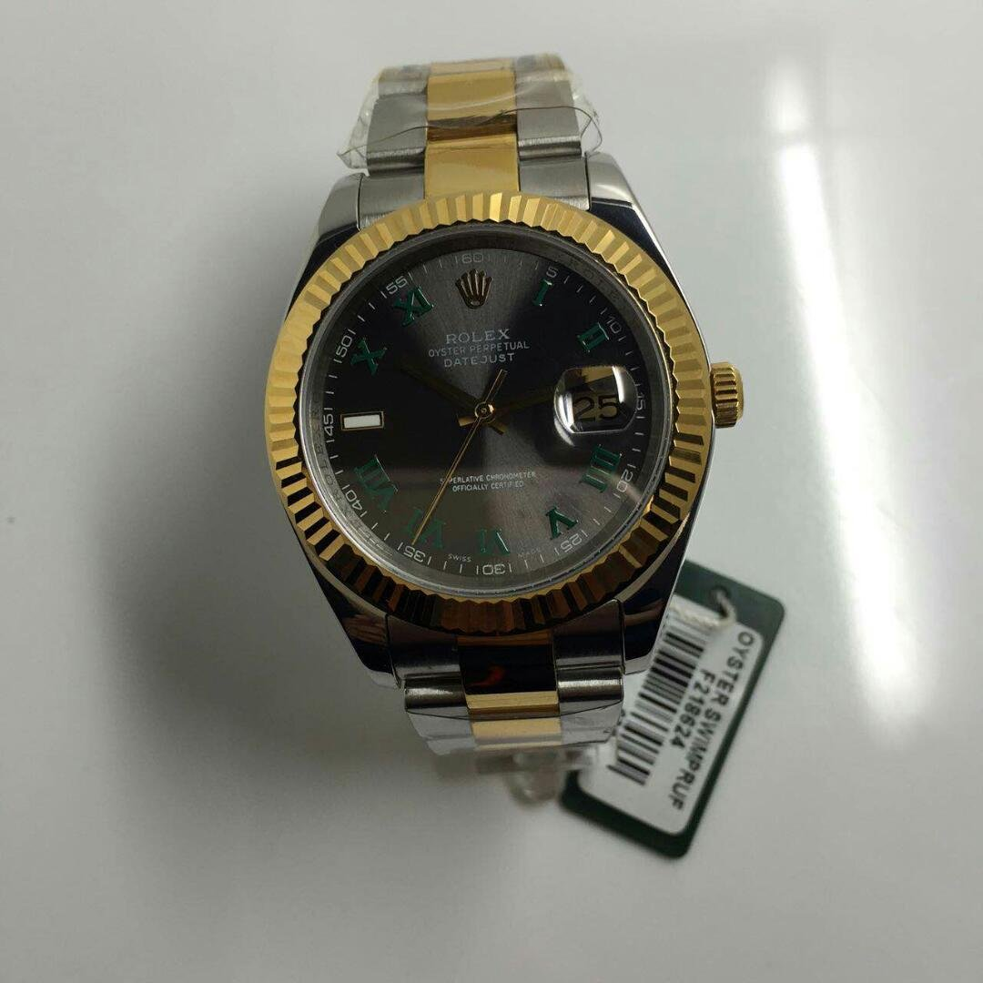 Rolex 116333 Green Rome Markers