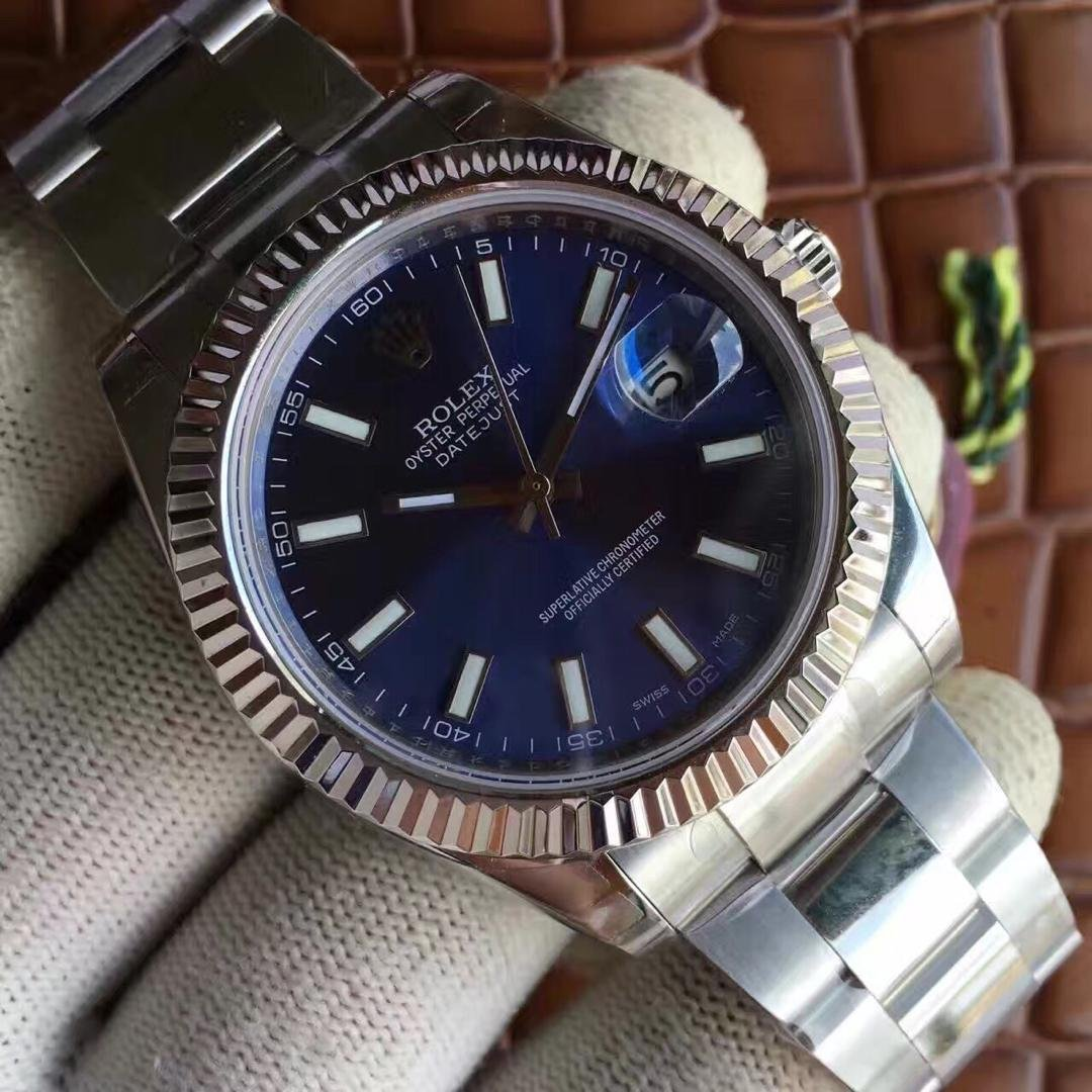 Rolex Datejust Blue Dial Replica
