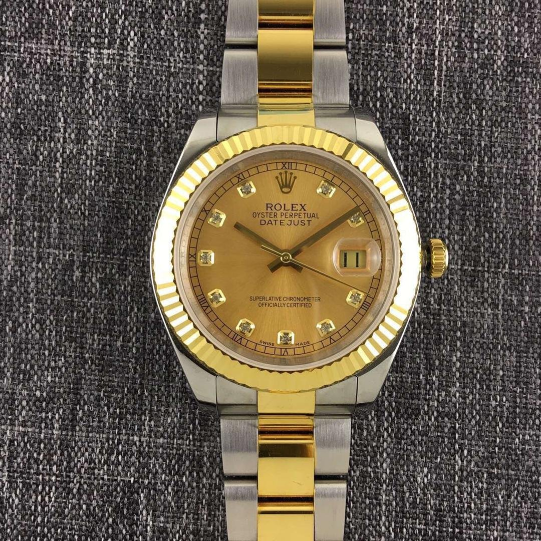 Rolex Datejust II Golden Dial