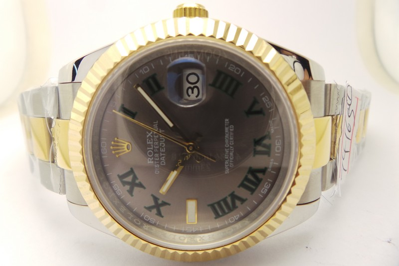 Rolex Datejust II Grey Dial