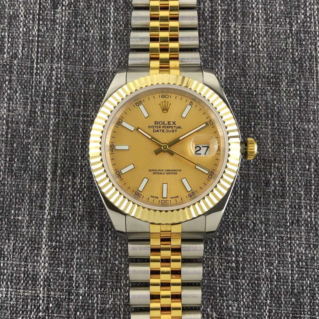 Rolex Datejust II Two Tone White Markers