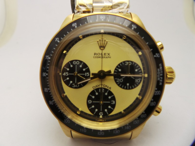 Rolex Daytona Paul Newman 6265 Gold Replica