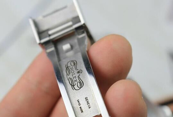 Rolex Engraving on Clasp